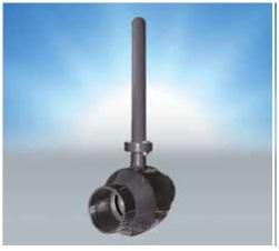 Кран шаровой пробка-шар и шпиндель из стали 40Х13, класс герметичности А