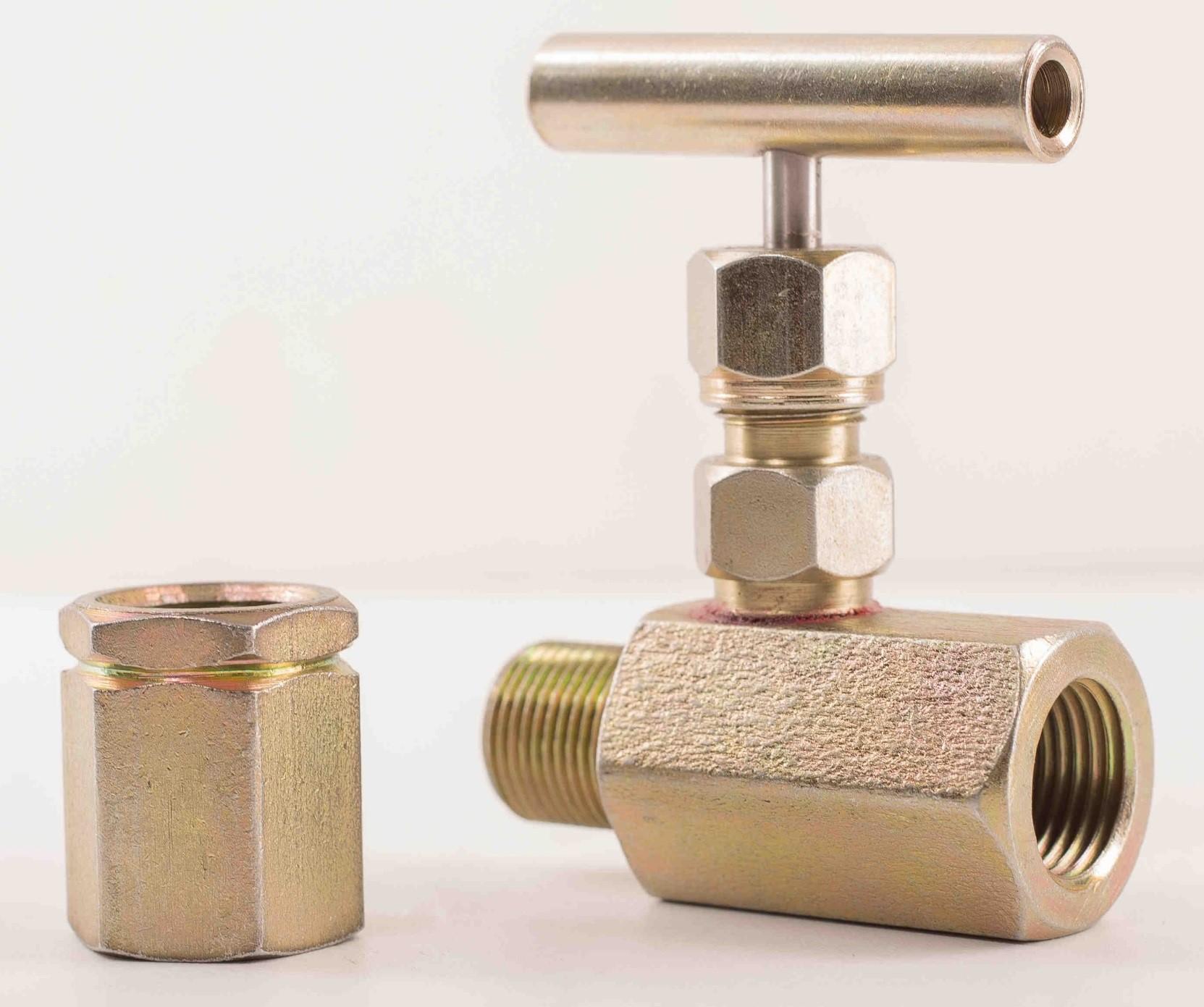 Клапан игольчатый под манометр